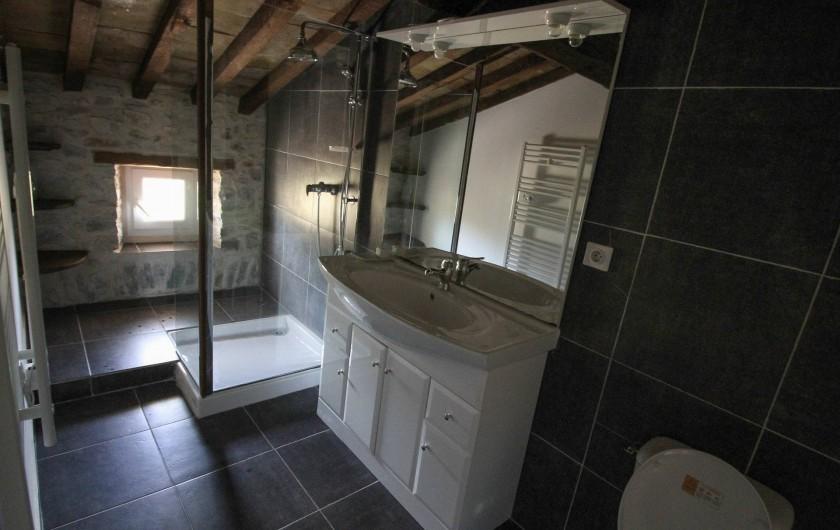 Location de vacances - Appartement à Saint-Hippolyte-du-Fort - Salle de douche