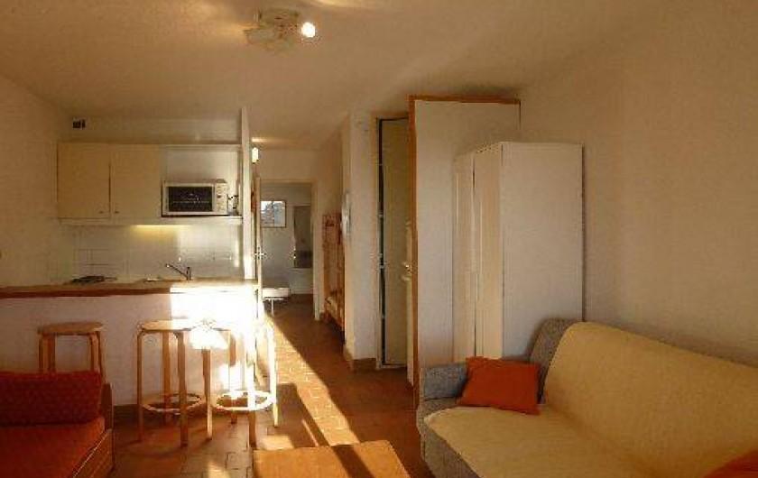 Location de vacances - Appartement à Le Lavandou - Rez de jardin-intérieur