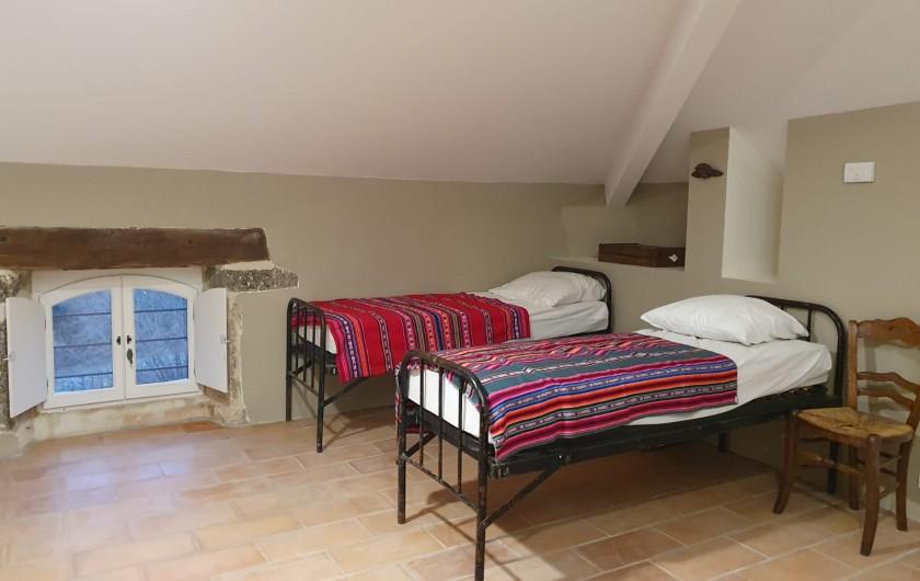 Location de vacances - Mas à Clansayes - Dortoir