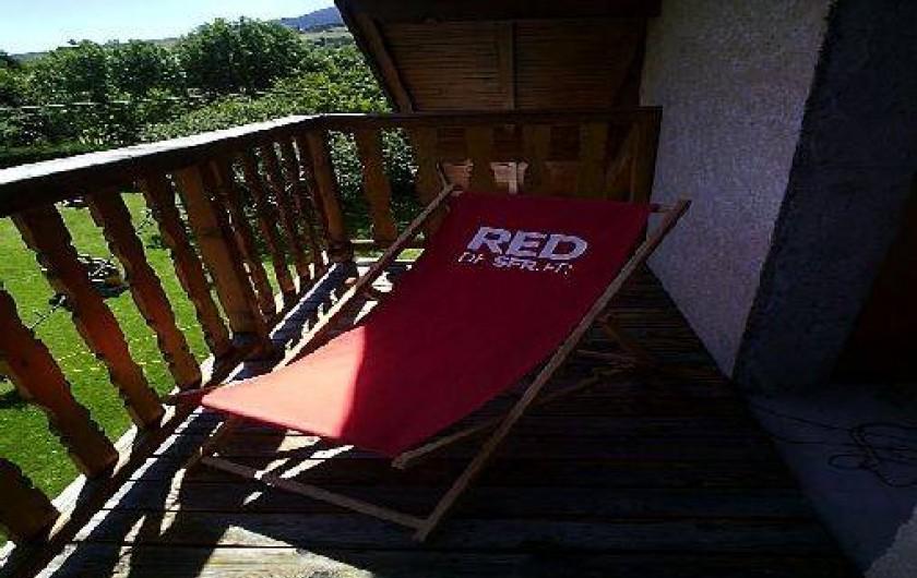 Location de vacances - Appartement à Châteauroux-les-Alpes