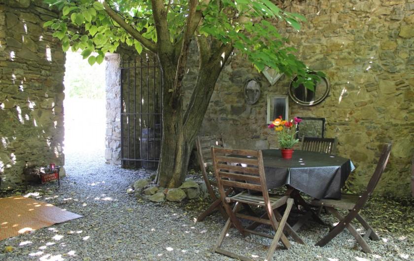 Location de vacances - Villa à Carcassonne - patio