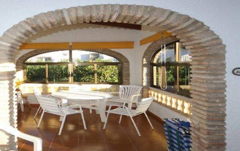 Location de vacances - Villa à La Marina Alta