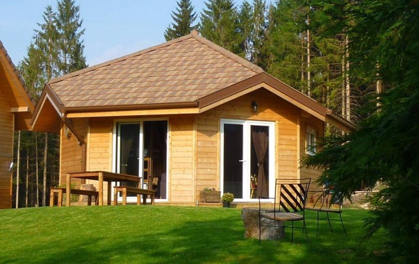 Location de vacances - Chalet à Plaine