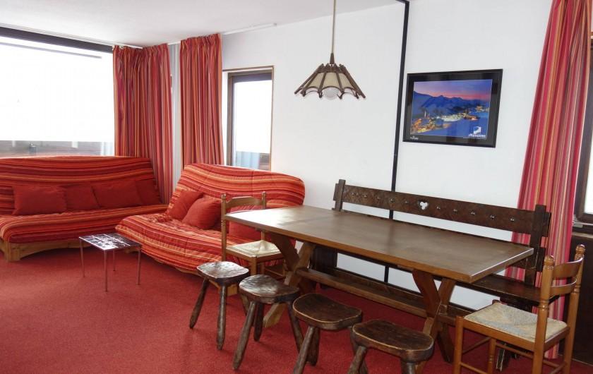 Location de vacances - Appartement à Les Menuires - Salon
