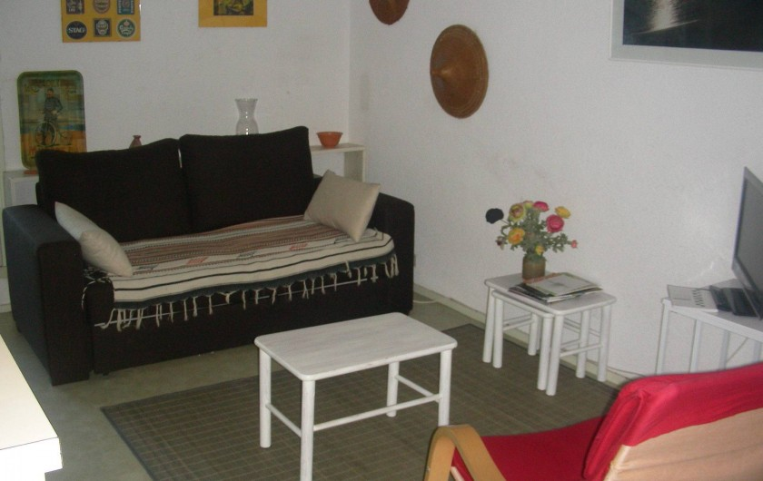 Location de vacances - Appartement à Agde - Séjour