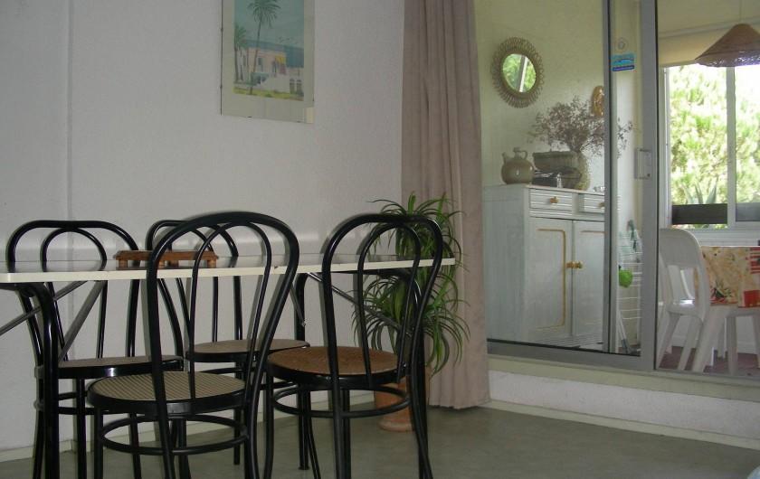 Location de vacances - Appartement à Agde - Coin repas