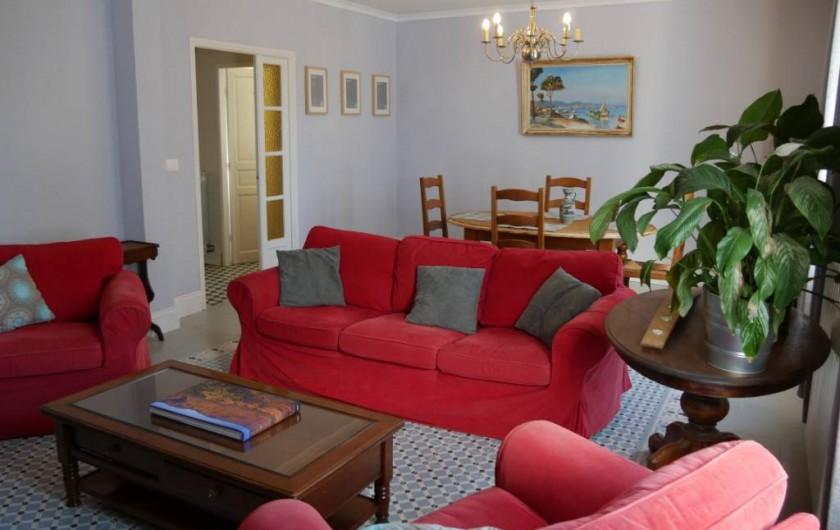 Location de vacances - Maison - Villa à Pouzolles - salon