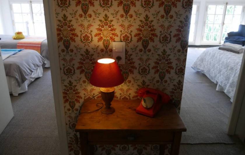 Location de vacances - Maison - Villa à Pouzolles - Chambres 2 et 3 face nord