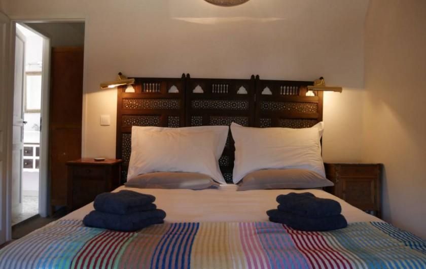 Location de vacances - Maison - Villa à Pouzolles - chambre principale - lit 160