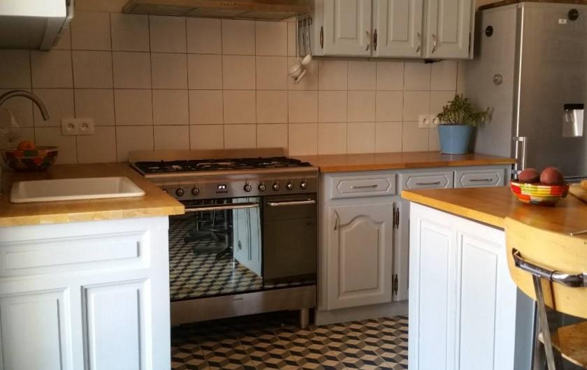 Location de vacances - Maison - Villa à Pouzolles - cuisine