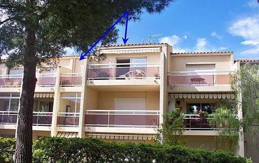 Location de vacances - Appartement à Cassis - Vue  extérieure