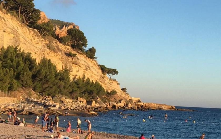 Location de vacances - Appartement à Cassis - La grande plage