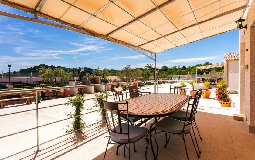 Location de vacances - Gîte à Pézenas - Terrasse & Jardin