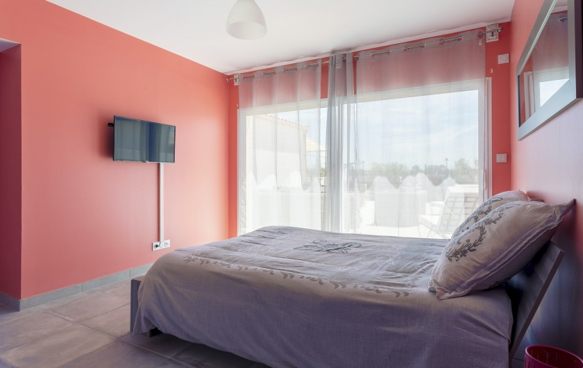 Location de vacances - Gîte à Pézenas - Chambre avec terrasse