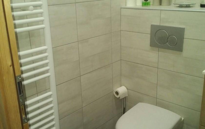 Location de vacances - Appartement à Les Deux Alpes - photo WC