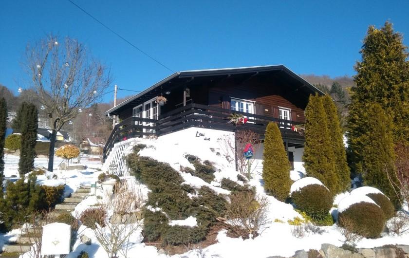 Location de vacances - Chalet à Metzeral