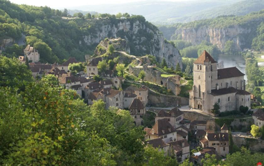 Location de vacances - Villa à Lalbenque - Autour de chez nous, plein de plus beaux villages de France, St-Cirq Lapopie