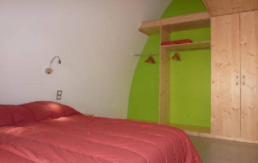 Location de vacances - Chalet à Xonrupt-Longemer - Eco-Lodge chambre en rez-de-chaussée