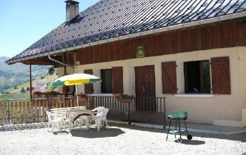 Location de vacances - Appartement à Saint-Jean-d'Arves - La maison