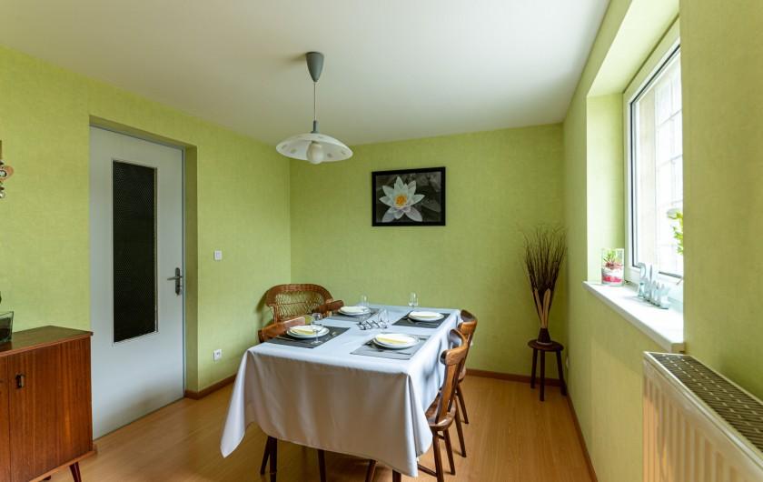 Location de vacances - Gîte à Oberschaeffolsheim - SALLE A MANGER