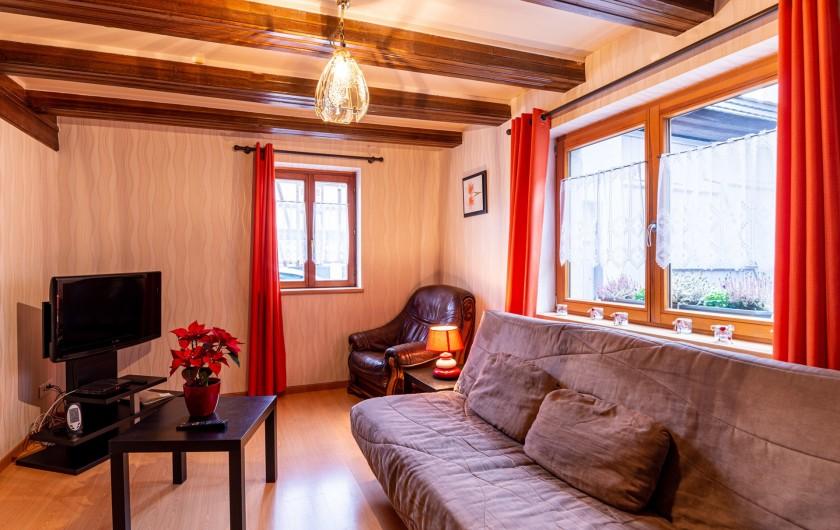 Location de vacances - Gîte à Oberschaeffolsheim - SALON