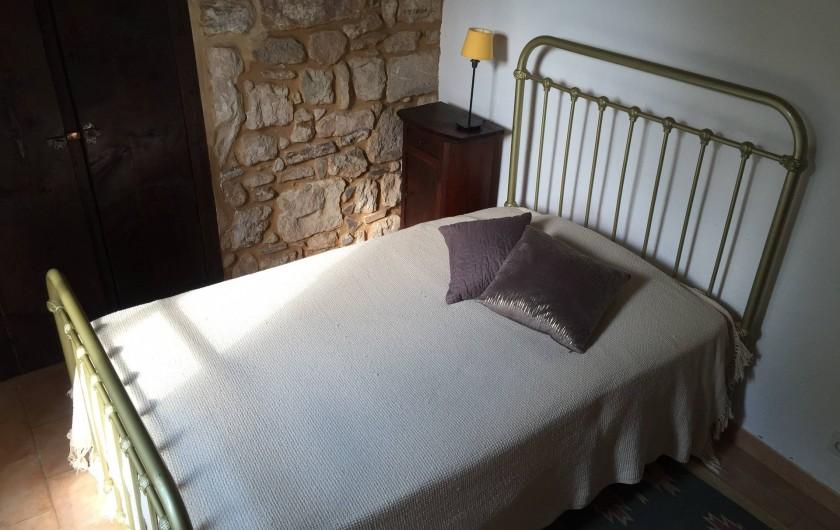 Location de vacances - Maison - Villa à Vinezac - Chambre du Tilleul