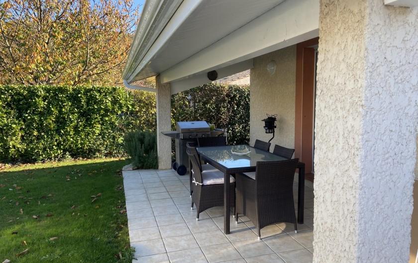 Location de vacances - Villa à Muret - Terrasse d'été, plancha
