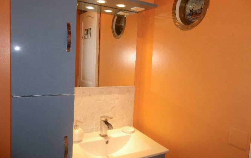 Location de vacances - Gîte à Fécamp - Salle de bain