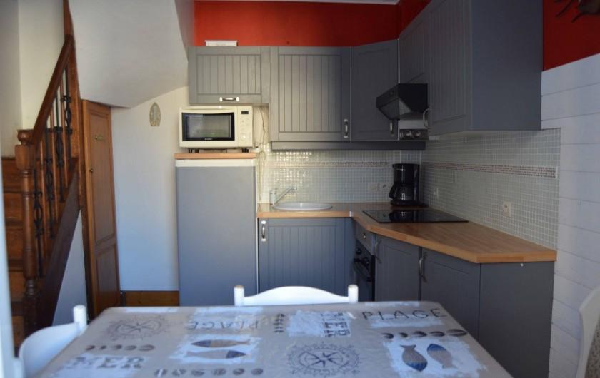 Location de vacances - Gîte à Fécamp - Coin cuisine