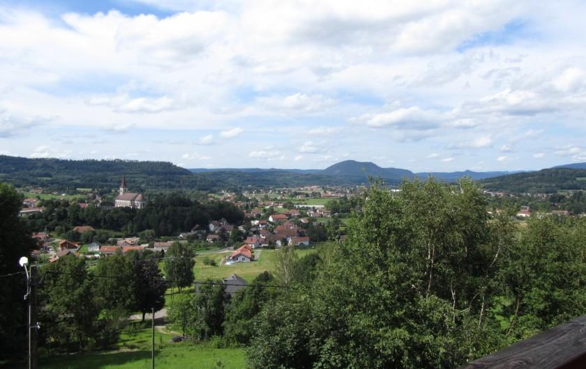 Location de vacances - Chalet à Anould - vue depuis le chalet