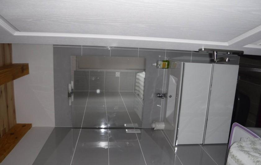 Location de vacances - Chalet à Villesoule - salle de bains