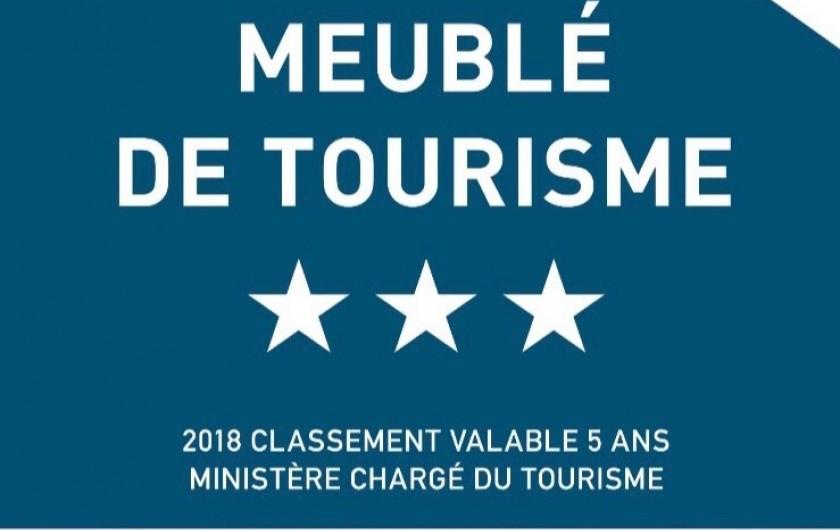 """Location de vacances - Chalet à Servoz - Le """"Chalet du Guide"""" a été classé 3*** par le Ministère chargé du Tourisme."""