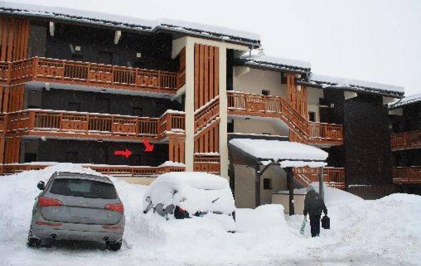 Location de vacances - Studio à Les Deux Alpes - entrée