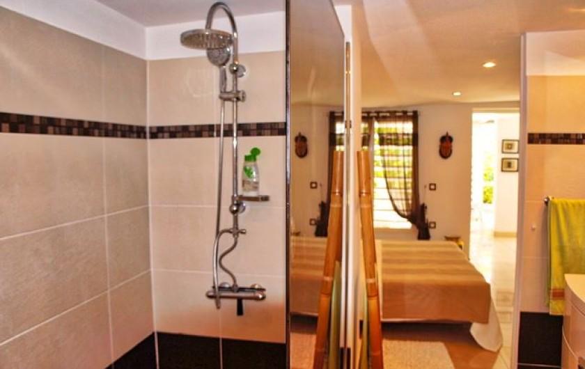 Location de vacances - Villa à Saint-François - Grande penderie dans chaque chambre