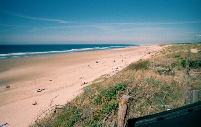 Location de vacances - Villa à Biscarrosse Plage - Plage Nord