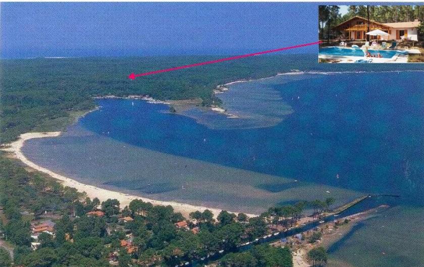 Location de vacances - Villa à Biscarrosse Plage - Lac de Cazeaux