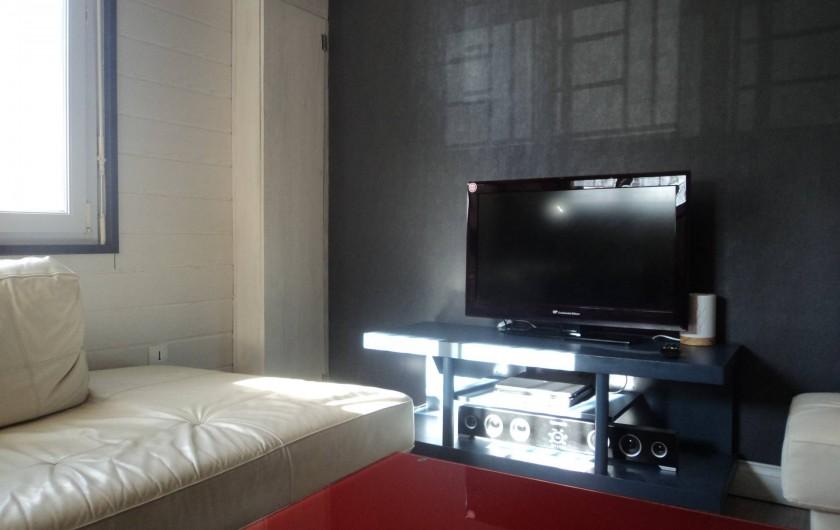 Location de vacances - Maison - Villa à Saint-Laurent-de-la-Salanque - Salon et coin TV