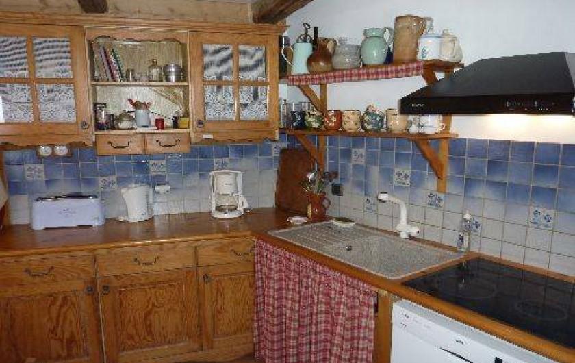 Location de vacances - Chalet à Saint-Jean-d'Arves - cuisine RDC