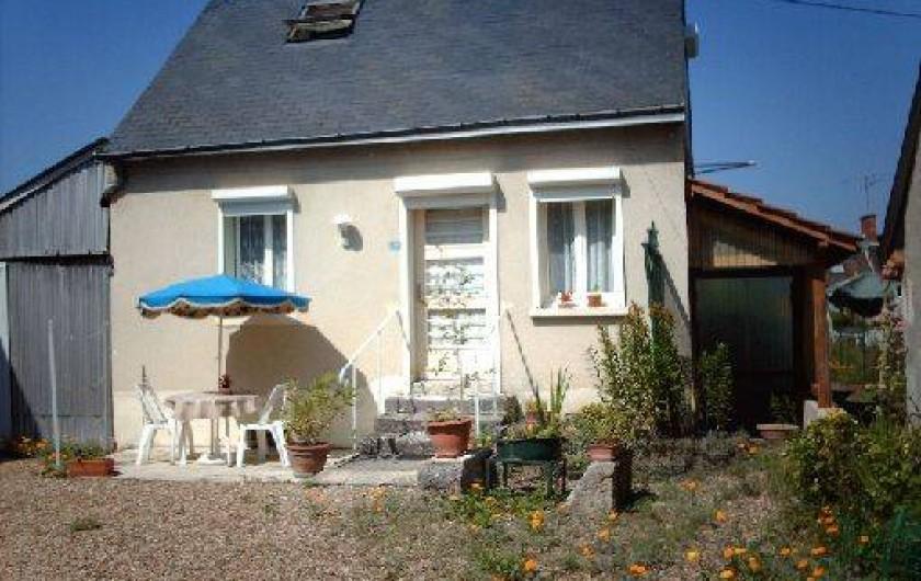 Location de vacances - Gîte à Pontlevoy - le petit gîte 'les Roses'