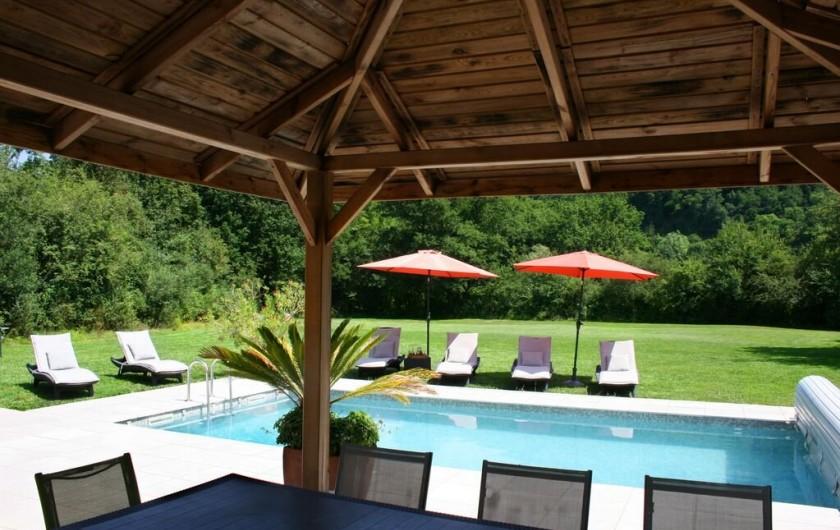Location de vacances - Gîte à Sainte-Eulalie-d'Olt
