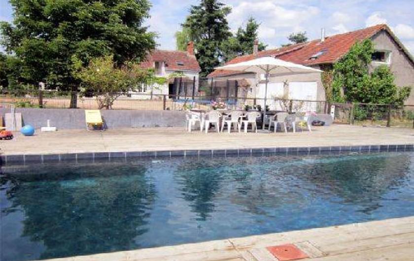 Location de vacances - Gîte à Villeloin-Coulangé