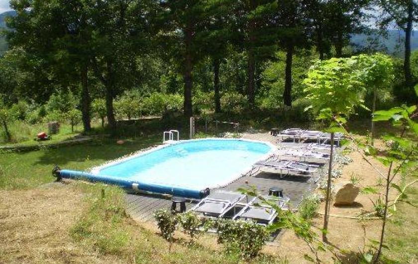 Location de vacances - Gîte à Saint-Laurent-de-Cerdans