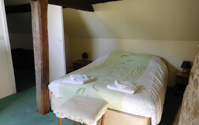 Location de vacances - Gîte à Puydoyeux - Chambre