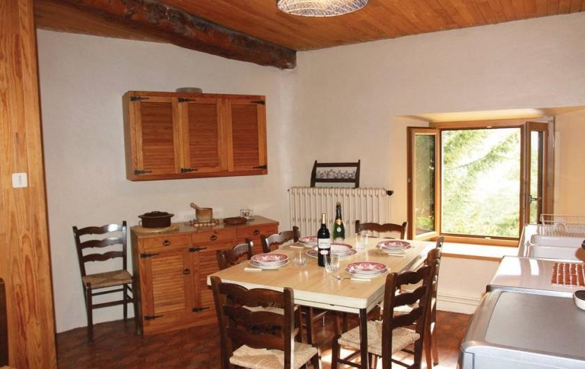 Location de vacances - Appartement à Le Monêtier-les-Bains - cuisine