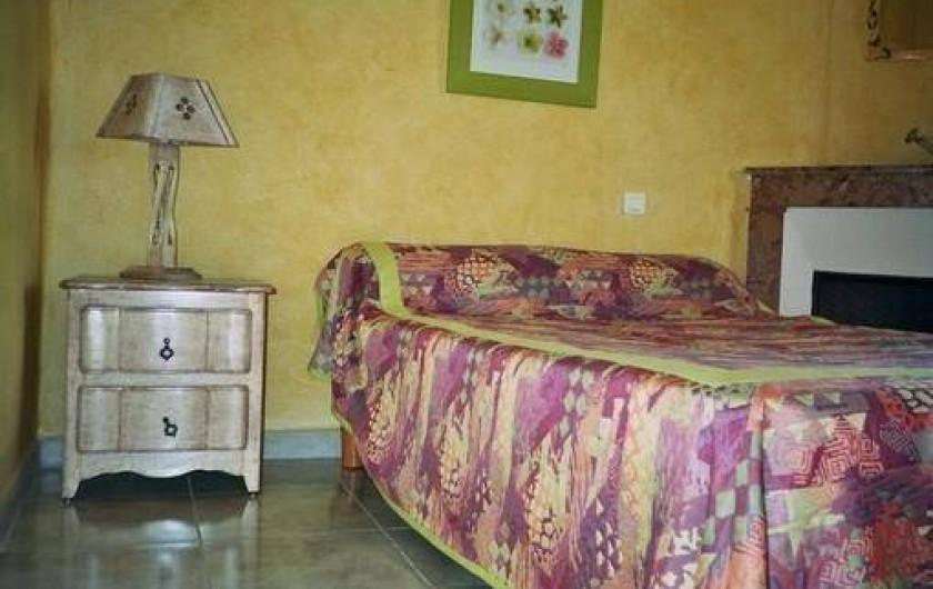 Location de vacances - Mas à Saint-Paul-le-Jeune - chambre 3