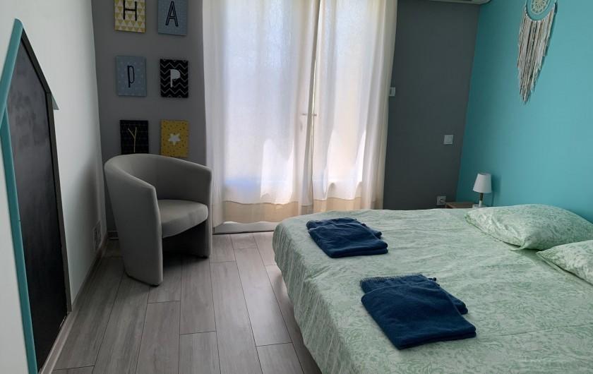 Location de vacances - Villa à Barjac - Chambre 2