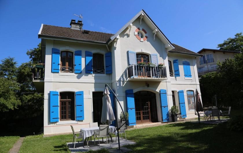 Location de vacances - Villa à Aix-les-Bains