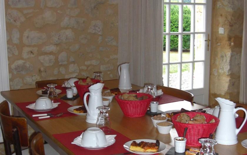 Location de vacances - Chambre d'hôtes à Sarlat-la-Canéda - Petits déjeuners à l'intérieur