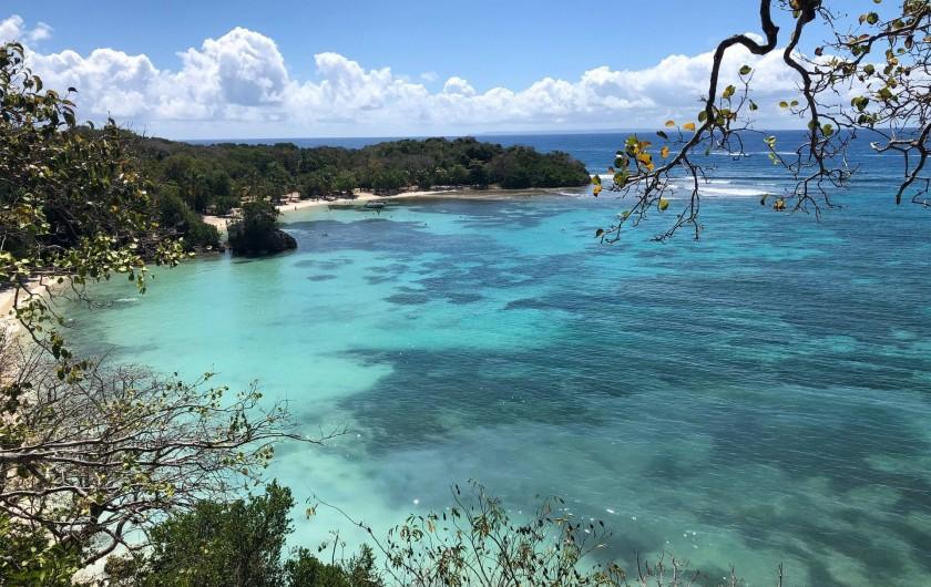 Location de vacances - Villa à Sainte-Anne - Plage de petit havre 20 mn à pieds