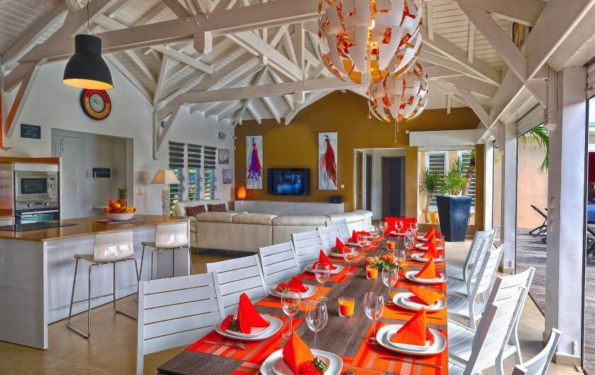Location de vacances - Villa à Sainte-Anne - vue intérieur